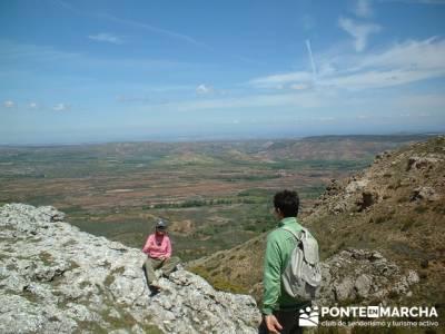 Barranco de Borbocid - Senderismo en la cumbre; excursiones desde madrid de un dia